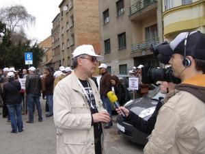 26.03.2010. Prosvjed sindikata zbog odluke GSVa i ne prihvaćanja Preporoda iz pregovaračkog tima