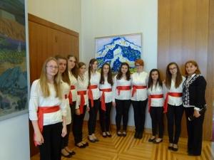 Voditelji županijskih vijeća glazbene i likovne kulture kodIve Josipovića