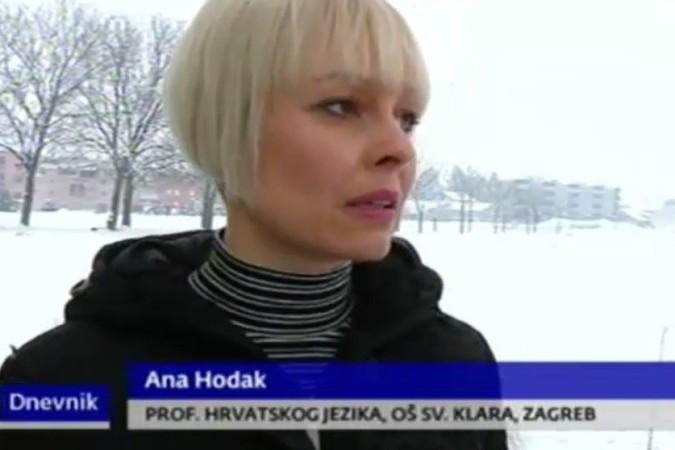 Nastavak školske godine, očekivanja (Video prilog HTV Dnevnik 10.01.2016.)
