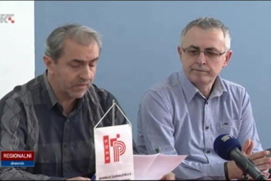 VIDEO: Prilog o održanoj press konferenciji sindikata Preporod u Osijeku 18.03.2016.
