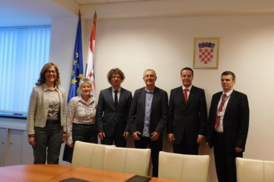 Predstavnici sindikat Preporod na sastanku s ministrom Šustarom
