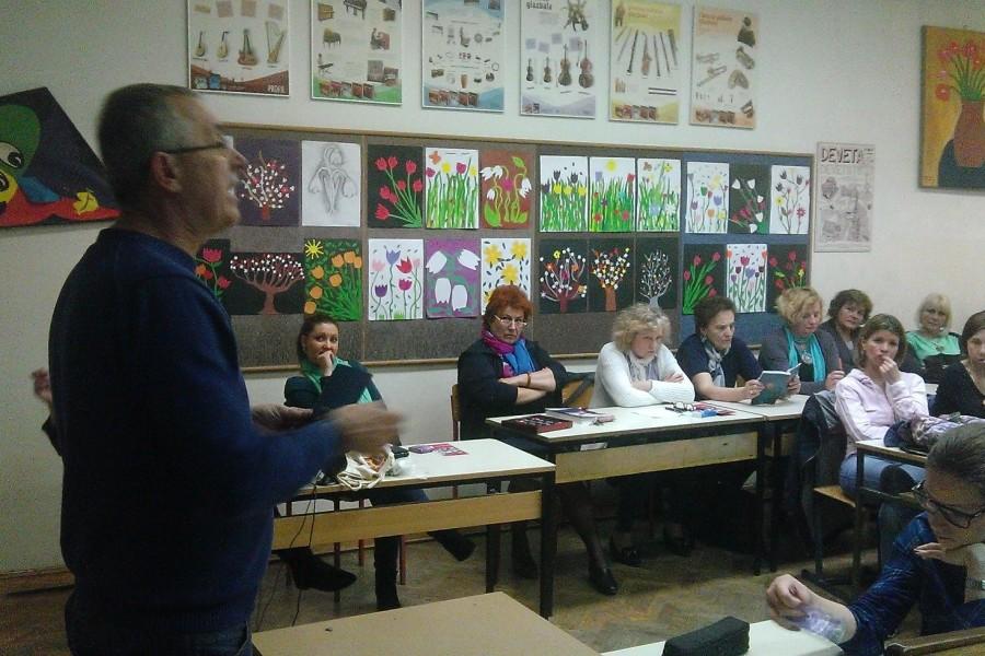 Sastanak u OŠ Antun Augustinčić u Zaprešiću