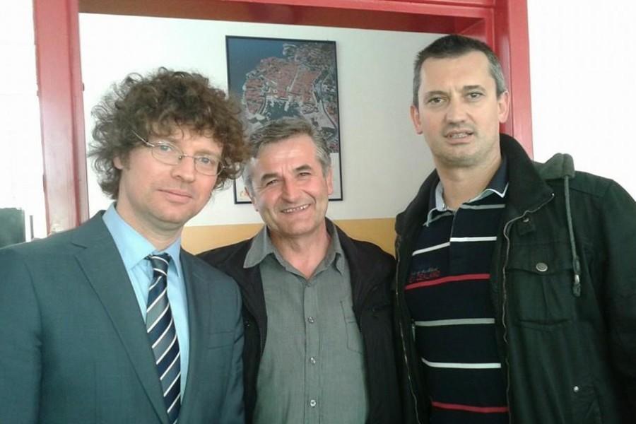 Ministar Šustar u posjeti srednjoj školi Lovre Montija u Kninu