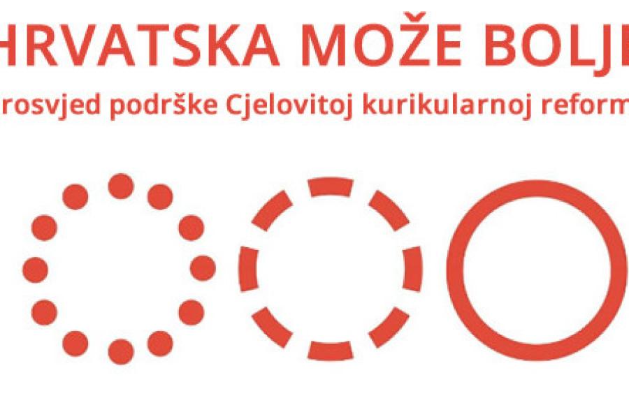 Inicijativa 'Hrvatska može bolje' traži ostavku ministra obrazovanja Predraga Šustara