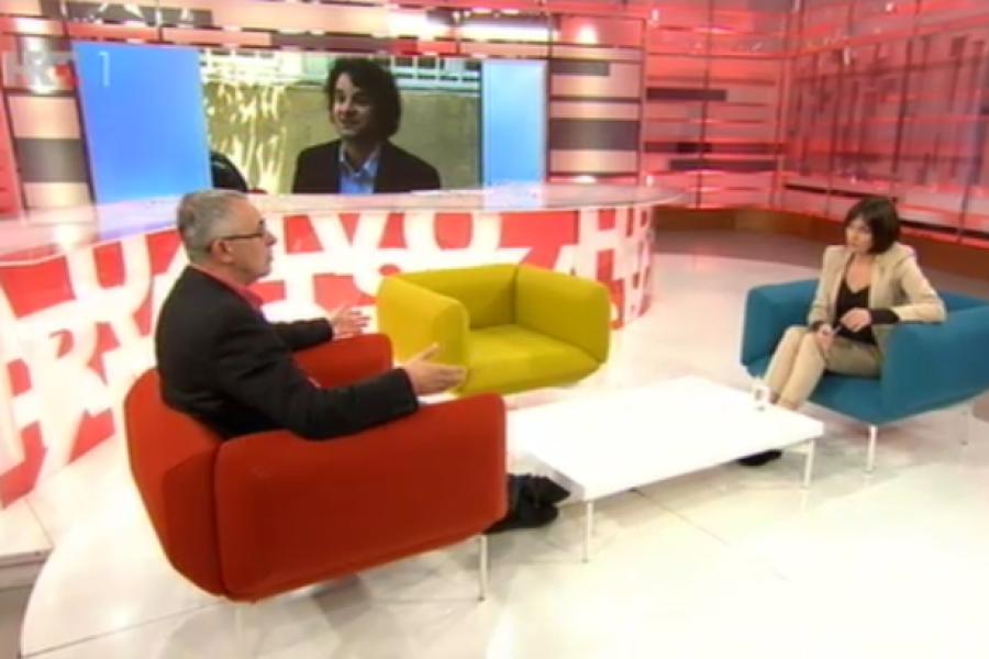 VIDEO: 25.05.2016. HRT, Hrvatska uživo, prilog o press konferenciji Borisa Jokića