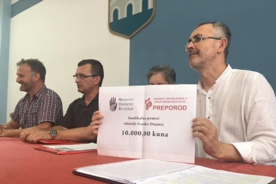 Sindikat Preporod i Nezavisni cestarski sindikat osnivaju Fond za zaštitu prava radnika