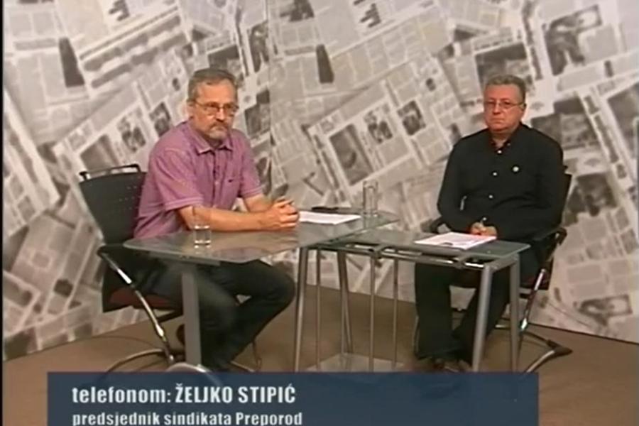 20.09.2016. Osječka TV, Emisija Vruća linija