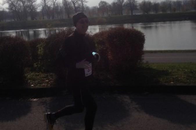 Željko Stipić na polumaratonu Ivan Starek