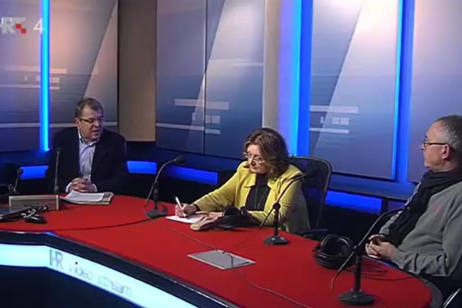 14.02.2017. HRT U mreži prvog, gosti Ana Miličević Pezelj i Željko Stipić