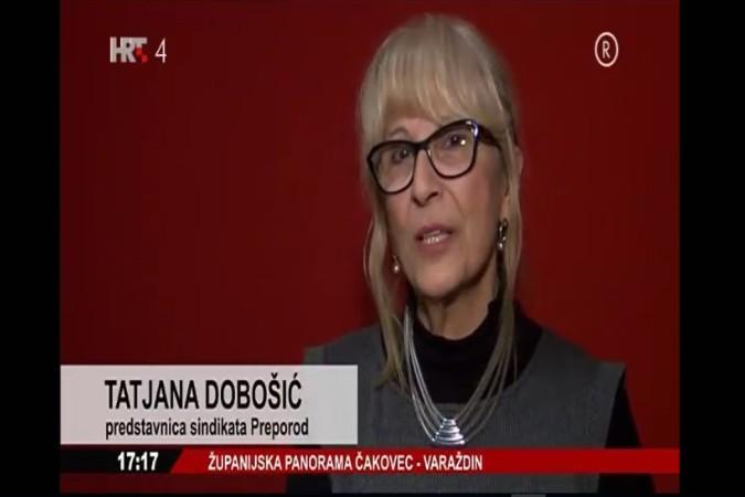 Članovi sindikata Preporod i u Čakovcu digli tužbe za isplatu 6% osnovice