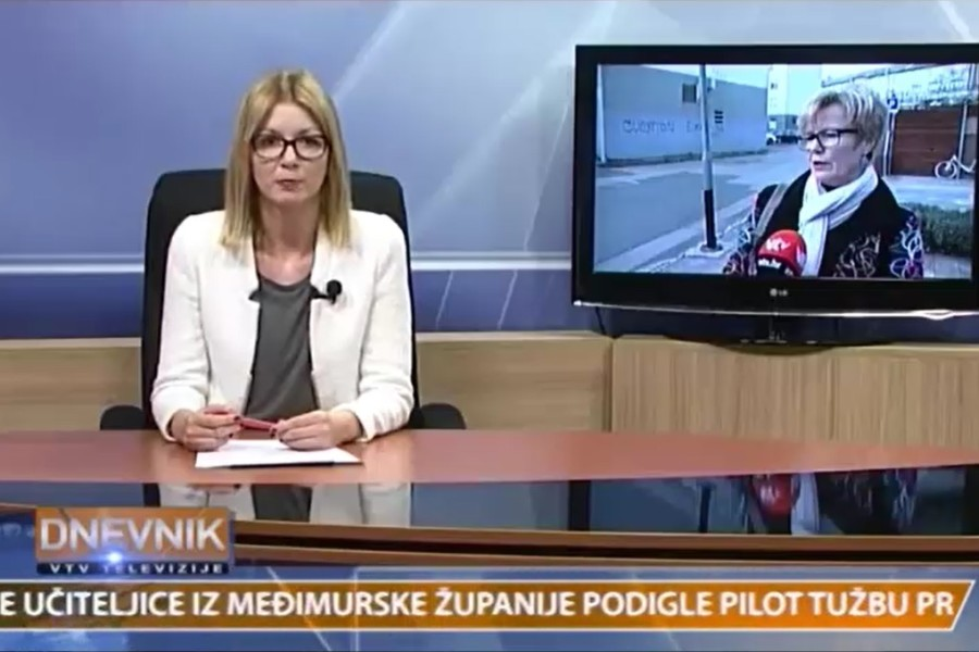 VIDEO: 04.03.2017. Varaždinska TV, Sudske tužbe za povećanje plaća od 6% u 2016.