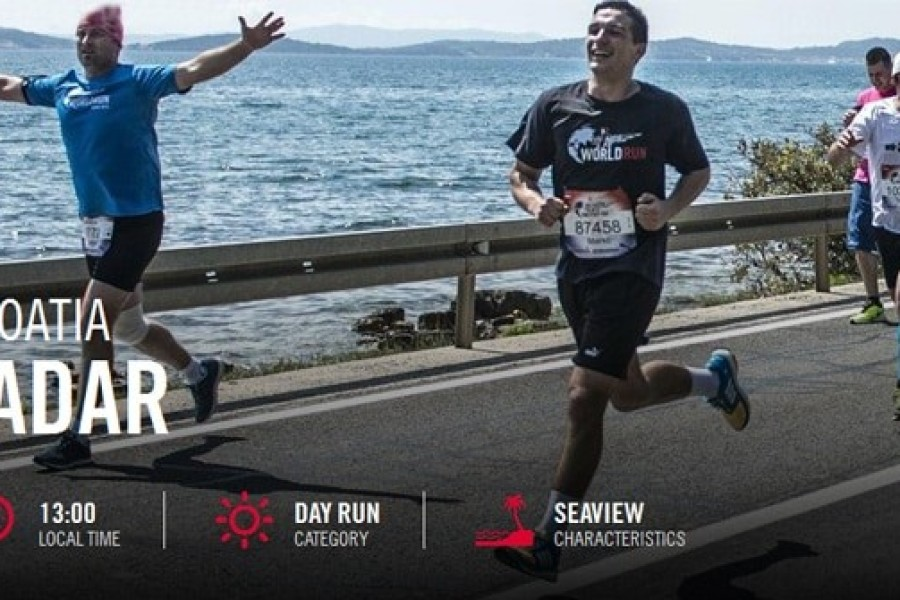 Preporodovi maratonci na utrci Wings for Life World Run Zadar, 07. svibnja 2017.