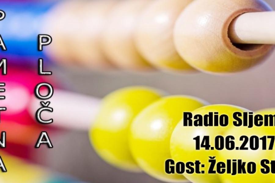 AUDIO: Pametna ploča, Radio Sljeme, gost Željko Stipić