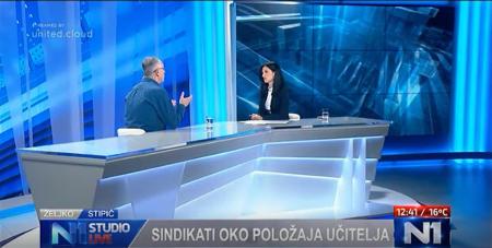 21.09.2017. N1 Studio LIVE, gost: Željko Stipić