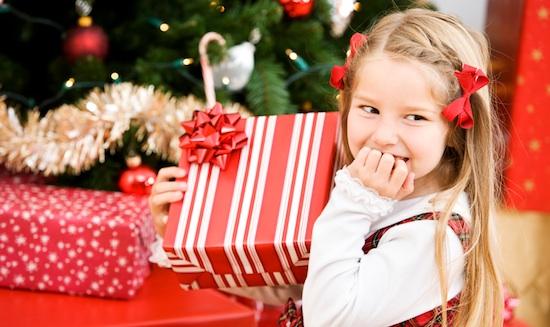 girl-holiday-present