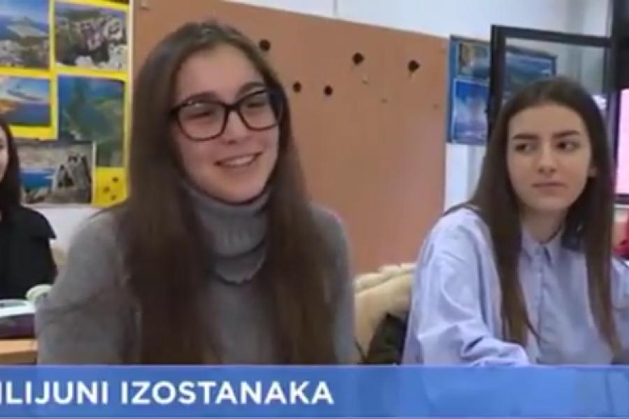 Alarm u hrvatskim školama: učenici skupili 32 milijuna izostanaka