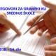 Pregovori za GKU u srednjim školama – 14. sastanak