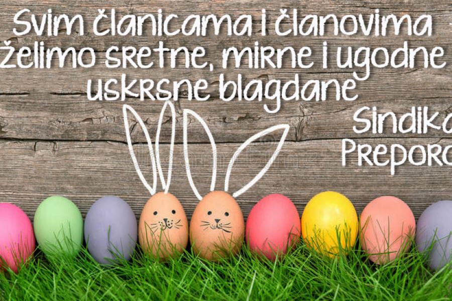 Sretni uskrsni blagdani!