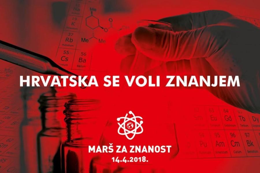 Napokon jedan skup koji ima smisla; ljudi su se okupili na Maršu za znanost