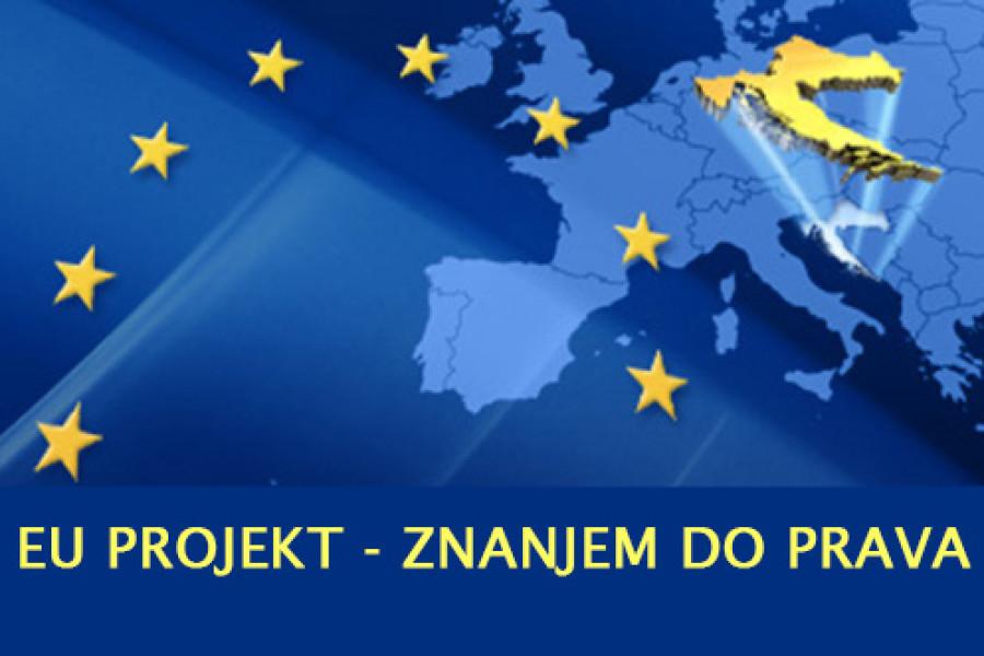 """KREĆE EU-PROJEKT """"ZNANJEM DO PRAVA""""!"""