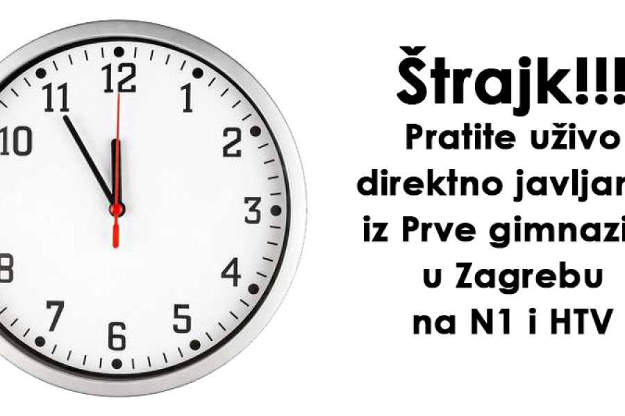 Štrajk!!! 5 do 12