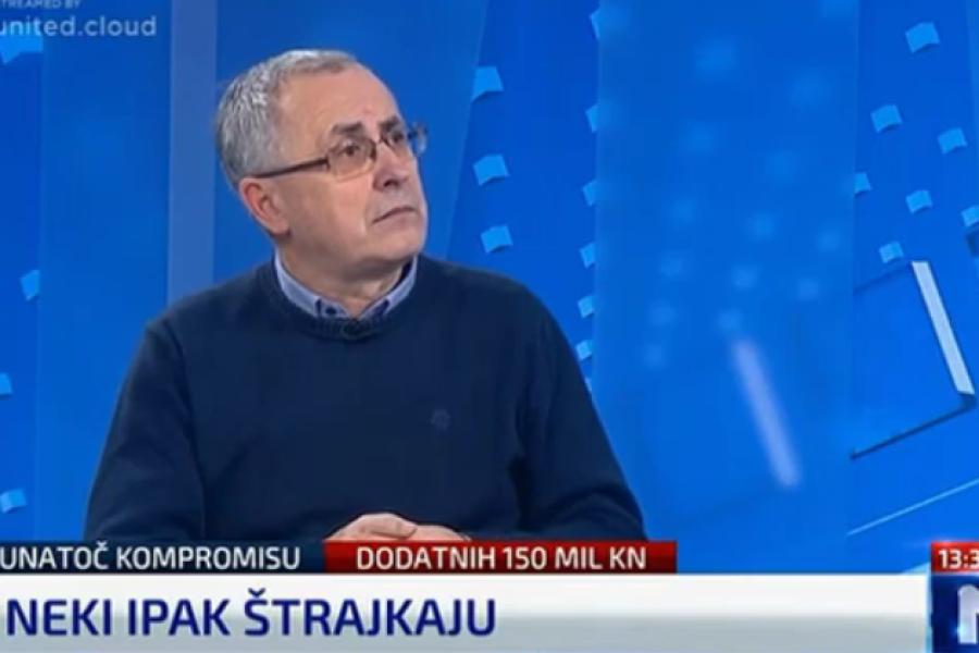 28.11.2018. N1 STUDIO UŽIVO, gost Željko Stipić