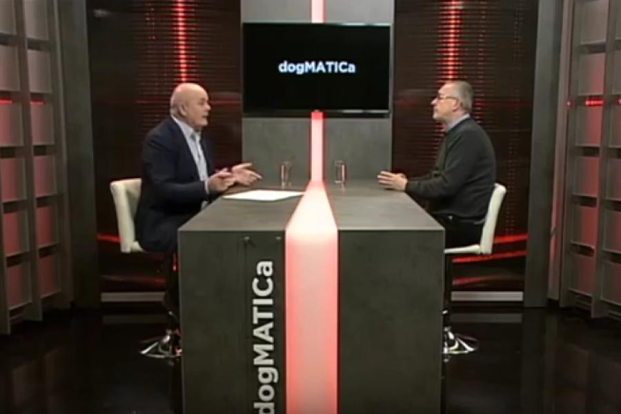 DOGMATICA 20.11.2018.,  gost Željko Stipić