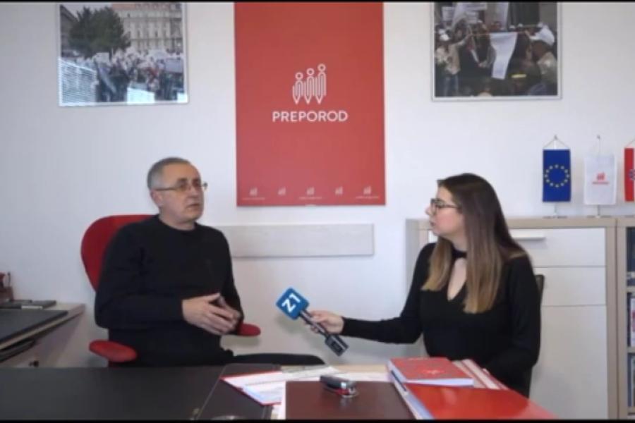 29.11.2018 . Z1 Prilog o štrajku članova sindikata Preporod