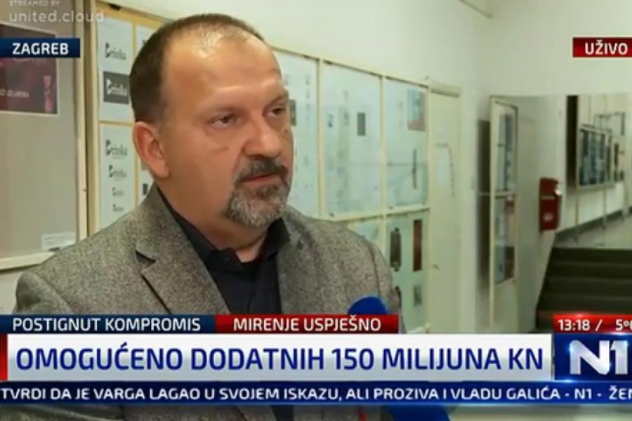 27.11.2018.  N1 TV,  Kako će izgledati sutrašnji štrajk u školama