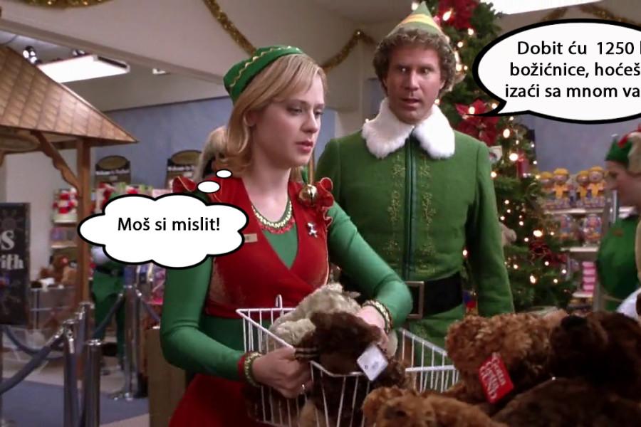 Isplata božićnice u srijedu 19.12.2018.