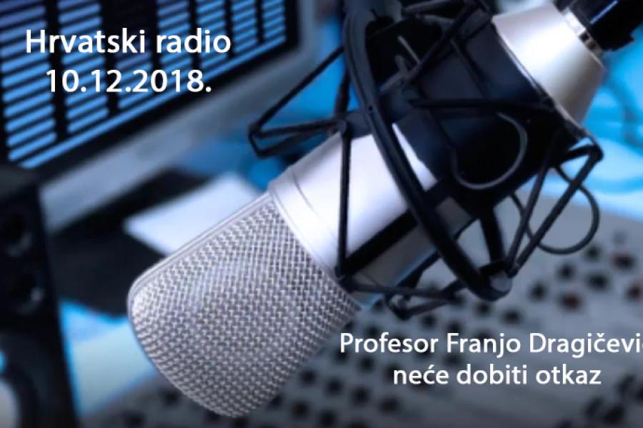 Profesor Franjo Dragičević neće dobiti otkaz