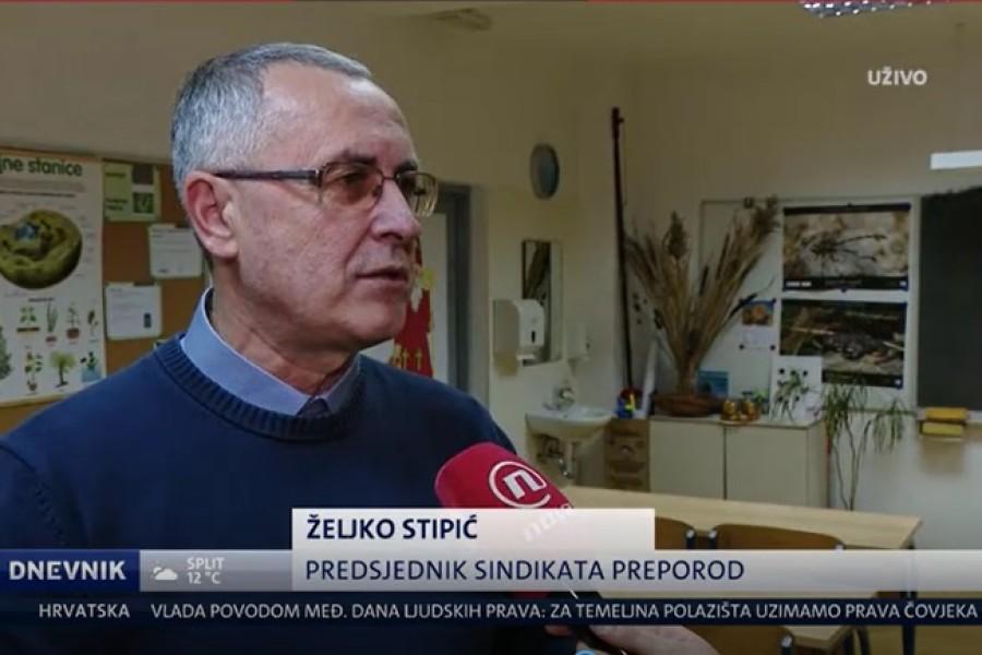 NOVA TV Dnevnik, Najava prosvjeda ZA SIGURNU ŠKOLU