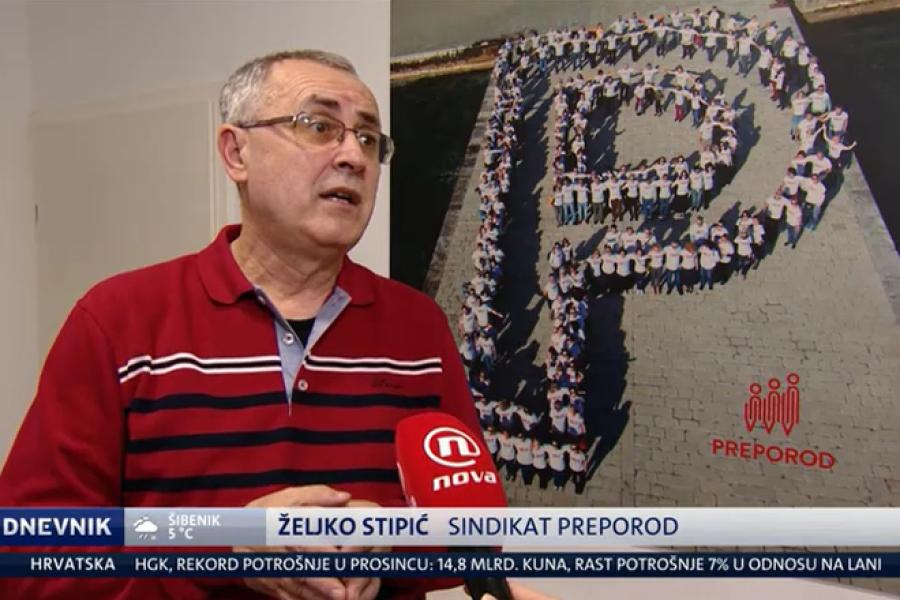 02.01.2019. NOVA TV, Dnevnik, prilog o nagrađivanju